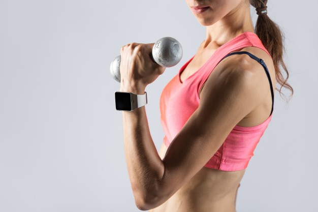 Muscles Building With Weight Lifting